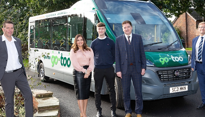 Go-too bus launch in cheshire east