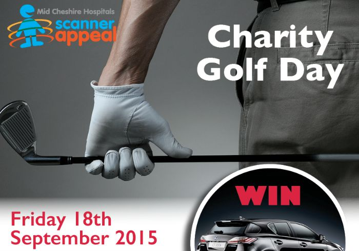 Golf Day Poster, MRI Scanner Appeal