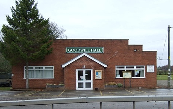Goodwill Hall Faddiley - pic by JThomas under creative commons