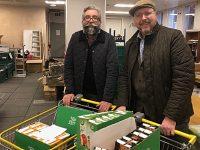 Gourmet Supper Club teams up to help Nantwich Food Bank