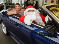 Car dealer runs design contest to boost Weston Christmas Lights Display
