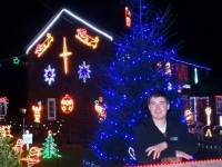 Weston Christmas Lights show unveiled by student Graham Witter