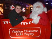 Graham Witter ready for seventh Weston Christmas Light Display