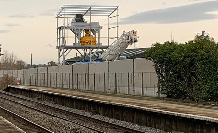 Graham heath work overlook Wrenbury railway
