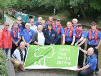 Green Flag status awarded to Shropshire Union Canal near Nantwich