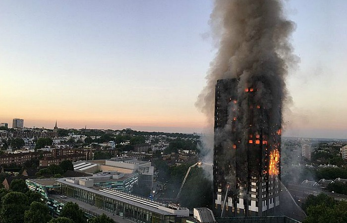 Grenfell Tower, cladding, fire - pic creative commons by Natalie Oxford