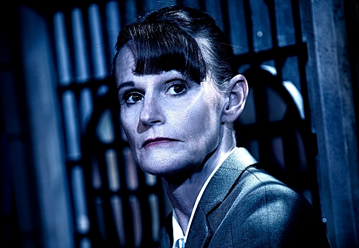 The Mousetrap set-up photographs with Gwyneth Strong @ St Martin's Theatre. (Taken 05-11-18) ©Tristram Kenton