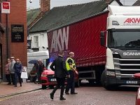 Lorry jam on Pillory Street causes Nantwich town centre chaos