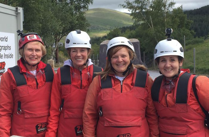 Hall Smith Whittingham solicitors Zip wire July 2015