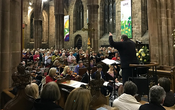 Handels Messiah conducted by John Naylor, Nantwich Choral Society