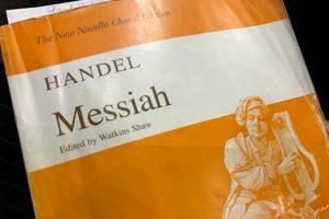 Handels Messiah vocal score