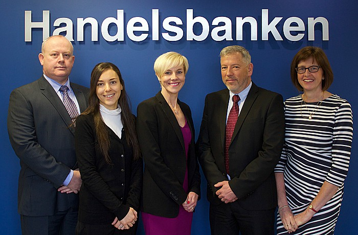Handelsbanken team in Crewe