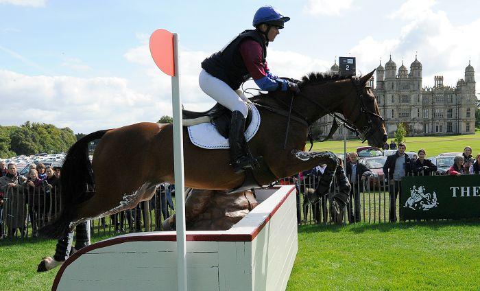 Hannah Bate and Finbury Hill, Burghley Horse Trials 2015