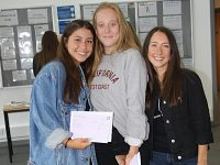 Brine Leas and Malbank pupils celebrate A level results