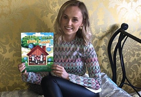Childminder publishes children's book in aid of NHS Charities