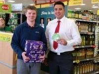 Nantwich pupil's defibrillators bid earns Morrisons boost
