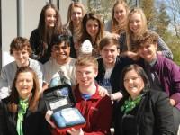 Nantwich student Harrison Lunt's defib campaign earns £2k boost