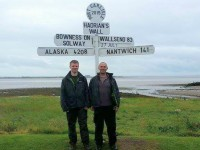 Nantwich student completes Hadrian's Wall trek in aid of CRY