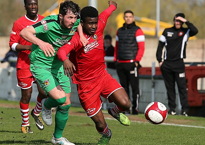 Nantwich Town Slip To Home Defeat Against Rushall Olympic