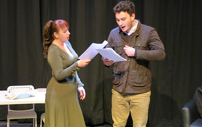 Harry Johnson and Bethany Froud as Nick and Marianne (1)