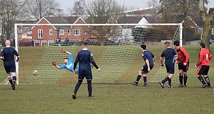 Haslington FC equalise to make it 2-2 (1)