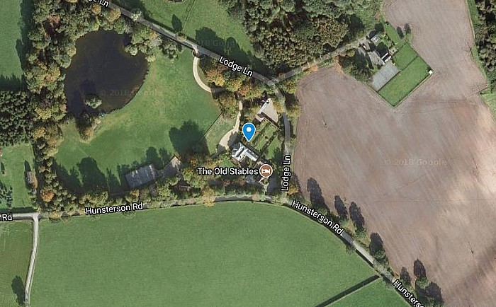 Hatherton Lodge, picture courtesy of Google Maps