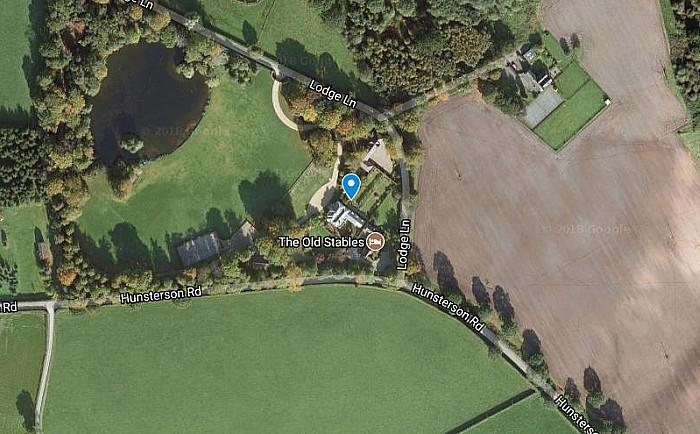 Hatherton Lodge, picture courtesy of Google Maps