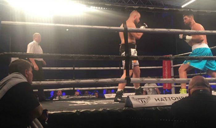 Hatton watches as Gorman faces Gorgita Gorgiladze