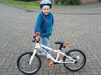Calveley boy, 5, to tackle Nantwich duathlon in aid of hospital
