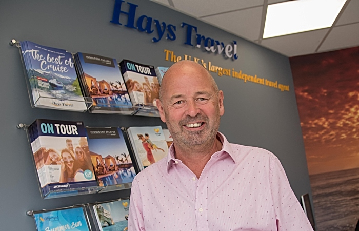 Hays travel north west boss