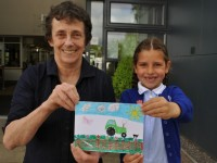 Young Wistaston artist wins Reaseheath postcard competition