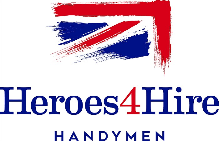 Heroes4Hire logo - ex Forces trained as handymen and women
