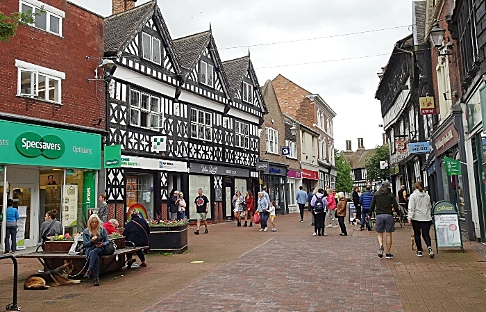 High Street in Nantwich on Saturday 4th July 2020 (1) (1)