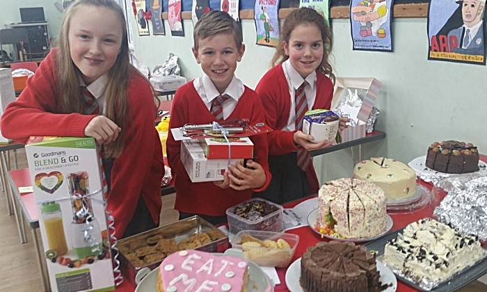 Highfields Academy Great British Bake Off contest