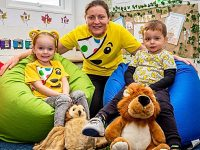 Tots raise Children in Need funds at Nantwich nursery