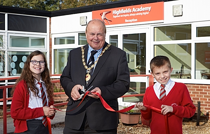 Highfields School - Academy facelift unveiled