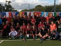 Hockeython at Vagrants in Willaston raises £1,000 for Bloodwise