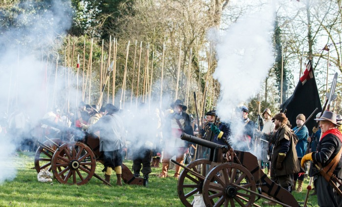 Holly Holy Day Battle of Nantwich 2015, pic by Simon J Newbury
