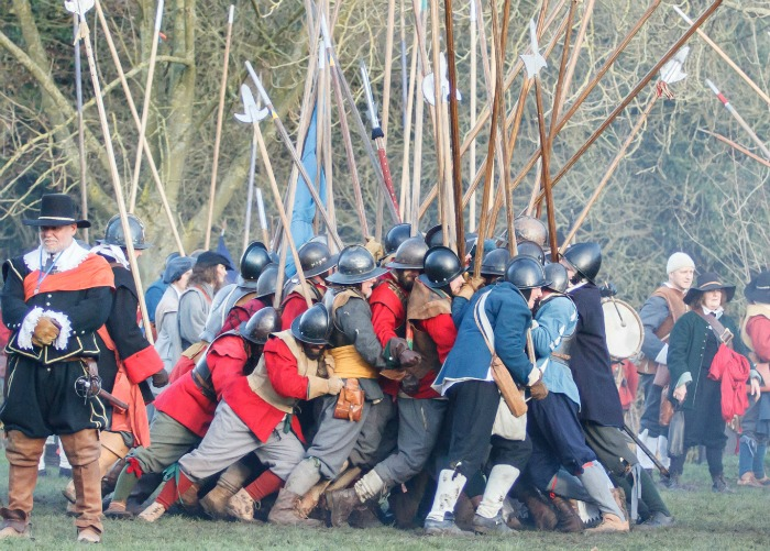 Holly holy day, battle of nantwich 2015, pic by Simon J Newbury
