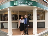 Nantwich based Webb House Furnishers celebrates 40 years