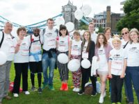 Nantwich family completes Heart of London Bridges Walk for CRY