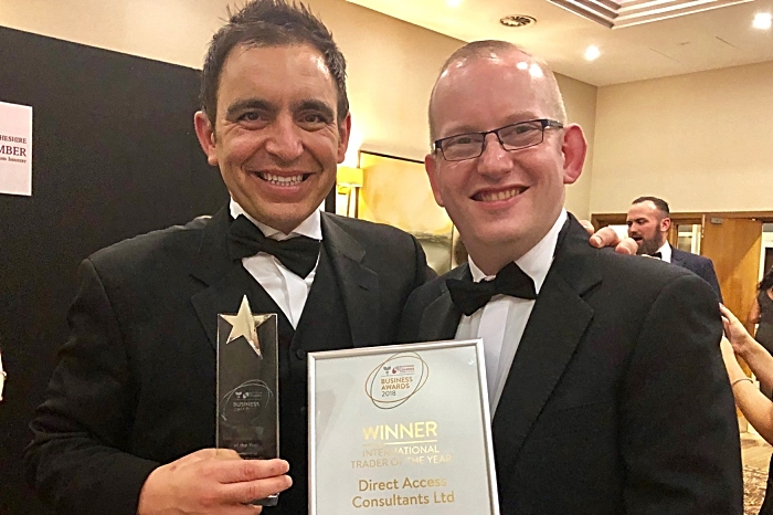 ITOY Award - Direct Access at chamber awards