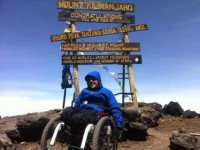 Nantwich wheelchair firm helps disabled climber achieve world first