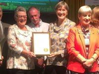 Nantwich earns Gold award in Britain in Bloom