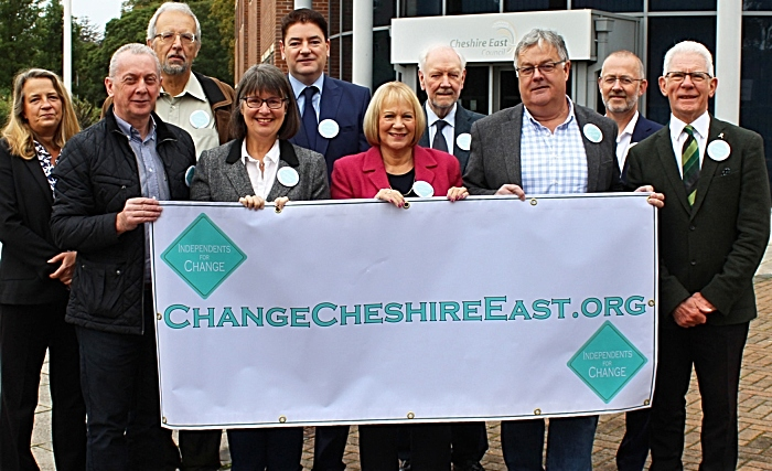Cabinet - Independent councillors in Cheshire East