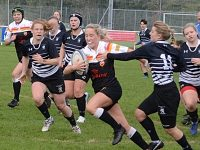 Crewe & Nantwich RUFC Ladies win 55-5 against Broughton Park