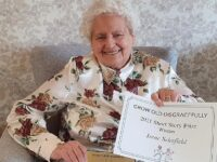 100-year-old Crewe woman's bathtub drama wins writing competition!