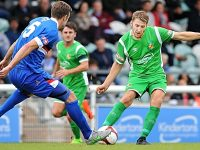 Nantwich Town ease to 4-1 win over Whitby Town