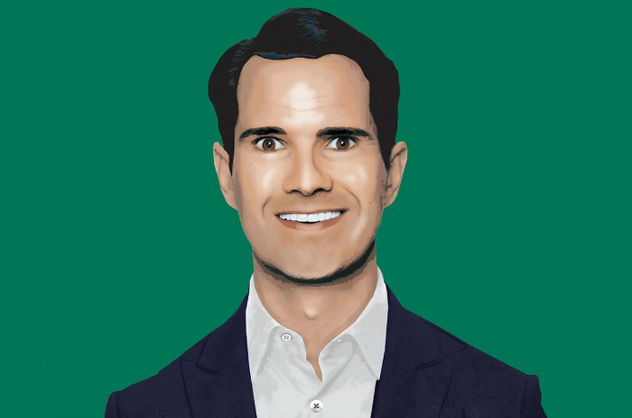 Jimmy Carr funny business promo image