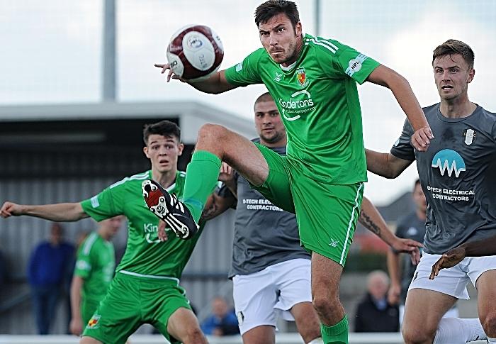 JOSH LANGLEY - Nantwich v Grantham in FA Cup